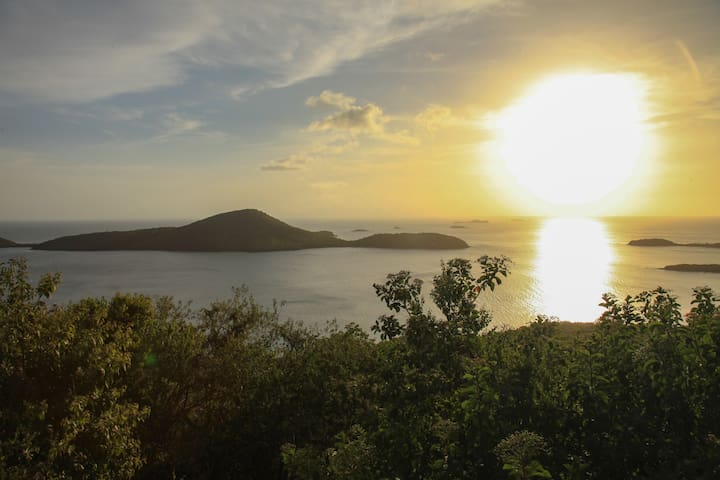 A magical place beautiful sunsets soft sunrises !
