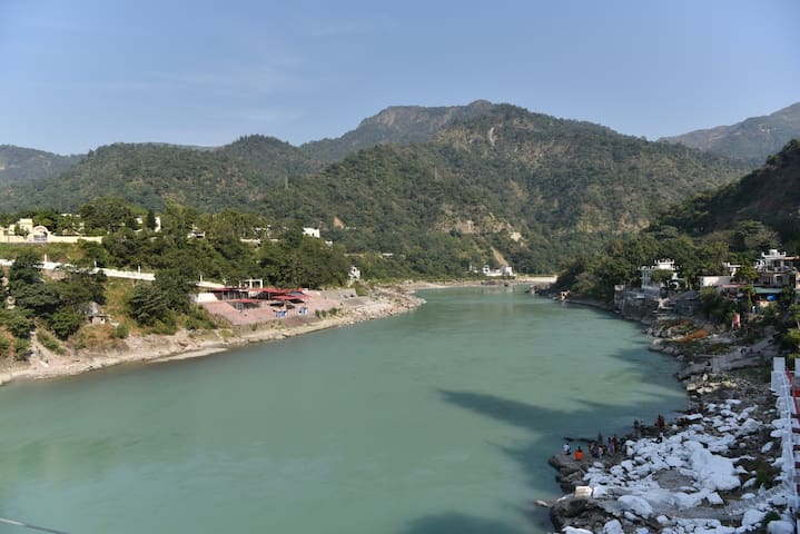Comfortable AC Room Near Laxman Jhula - Rishikesh - Vendégház