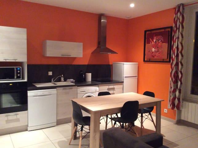 APPRTEMENT T2 NEUF 1 ETAGE CENTRE VILLE - Sainte-Colombe - Apartamento