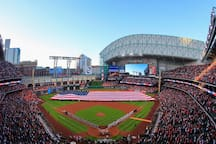 Minute Maid Park home of the Astros