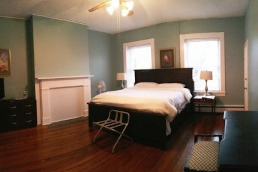 Scotchtown Suite Master Bedroom with King Bed