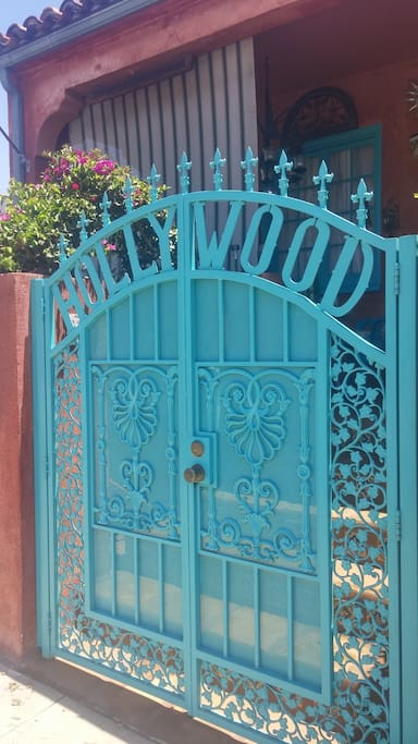 Your front gate