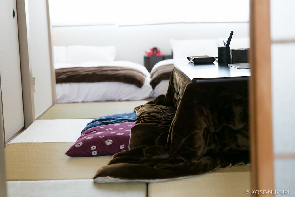strong Japanese sense with tatami room