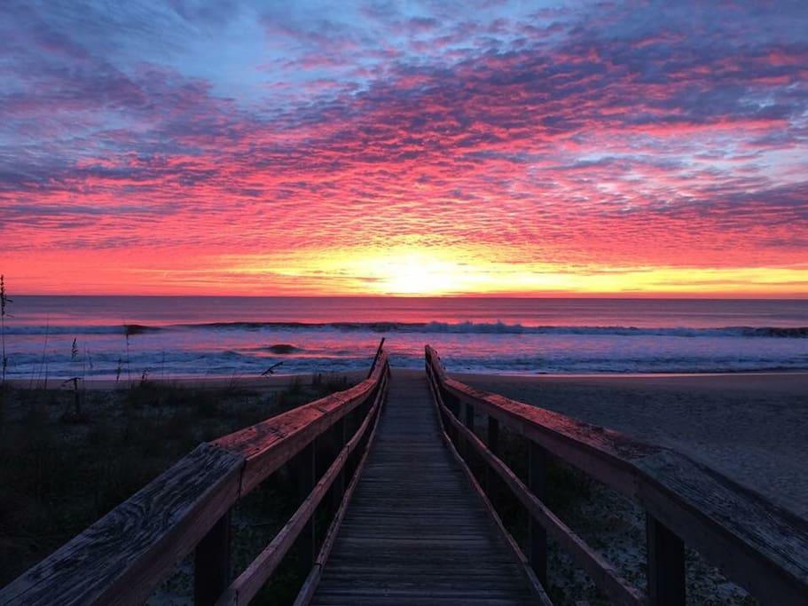 Awesome sunrises!