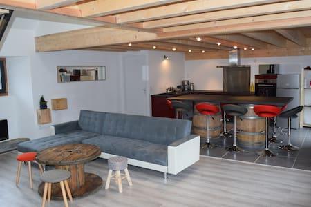 grange tout confort 6/11pers - Bourisp