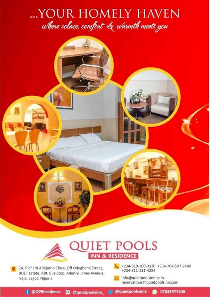 Private Room @ Quiet Pools - lkeja well priced