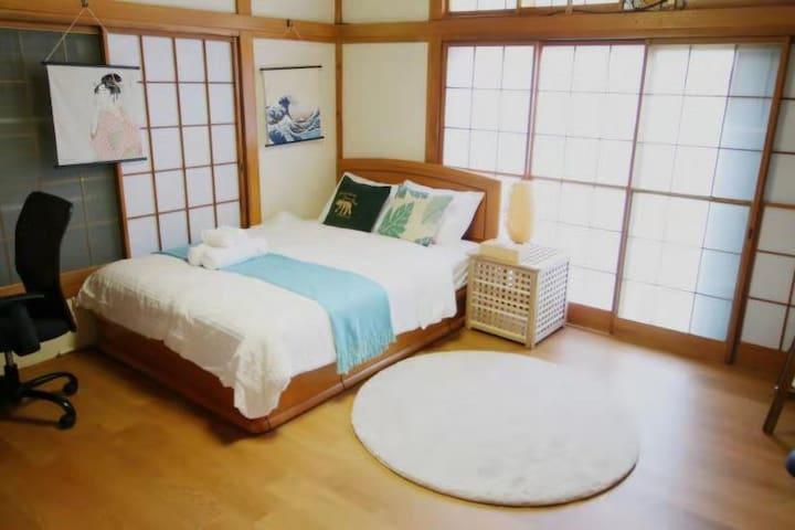 新房源 202 新宿,池袋直达 日式传统一户建 车站5分 免费Wi-Fi