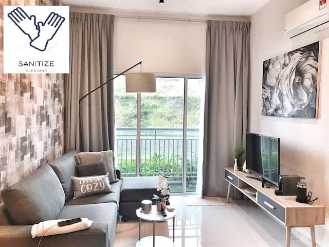 ✚SANITIZE✚ Netflix Cozy Home in Mesahill @ Nilai