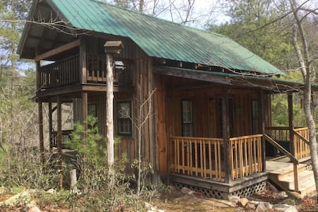 Cozy Appalachian TN Mountain Cabin - Falcons Nest - Del Rio - Hus