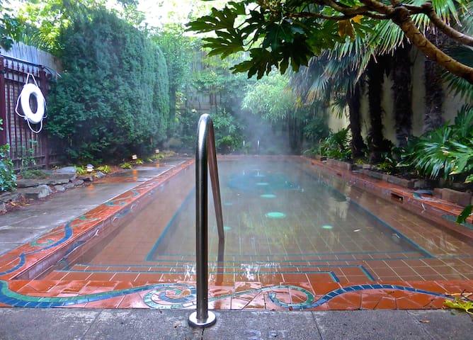 Kennedy School soaking pool.