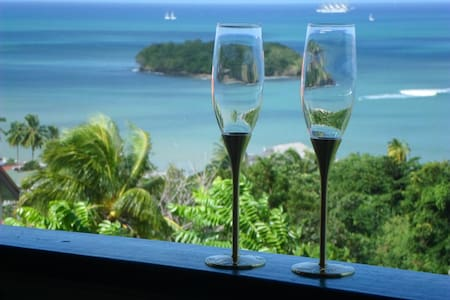 Amazing Beach View House Apt. 1 - Castries City - Apartament
