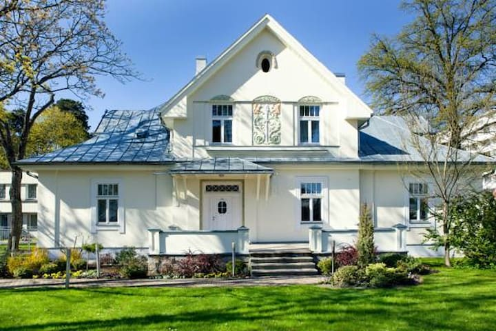 Villa next to the Baltic Beach in Jurmala