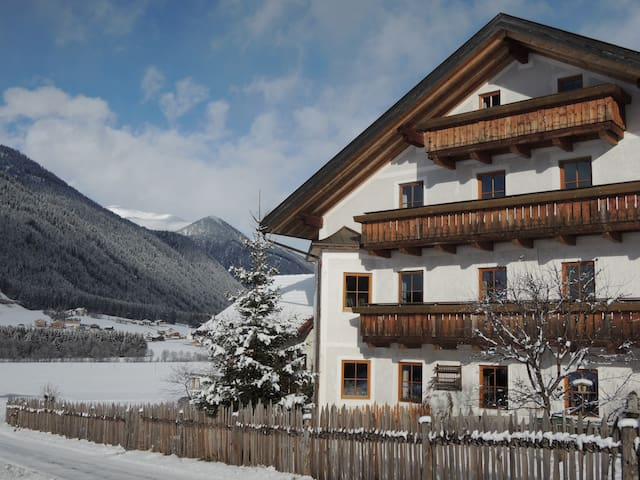 Farm holidays South Tyrol-Dolomites - Gsies - Apartment