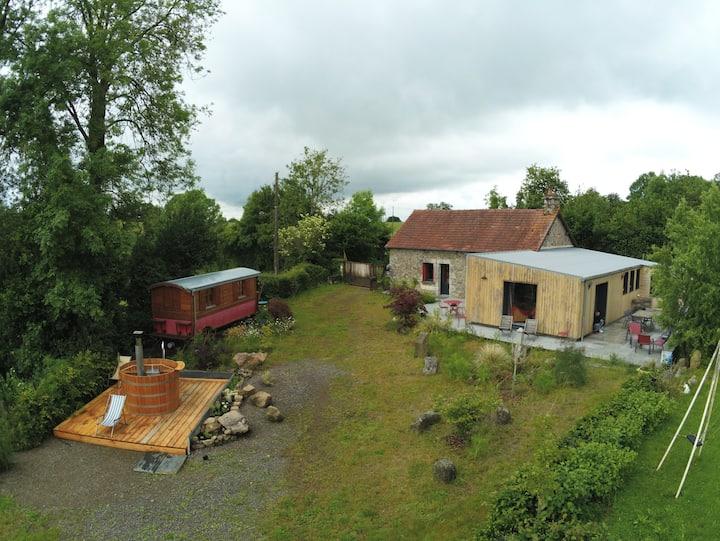 Les Terrasses d'Ecouves et son spa nordique