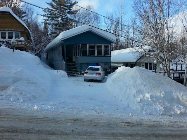 Chaleureuse Maison   Ski In Ski Out - Val-David