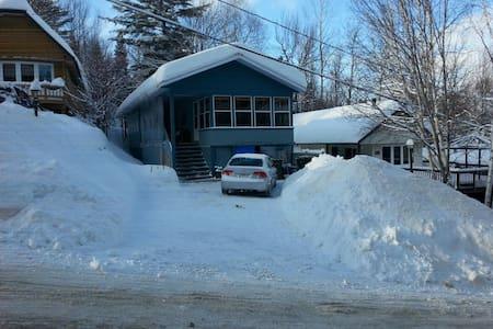 Chaleureuse Maison   Ski In Ski Out - Val-David - Rumah