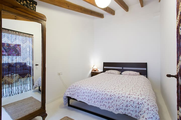 Double room with private lounge - Sóller
