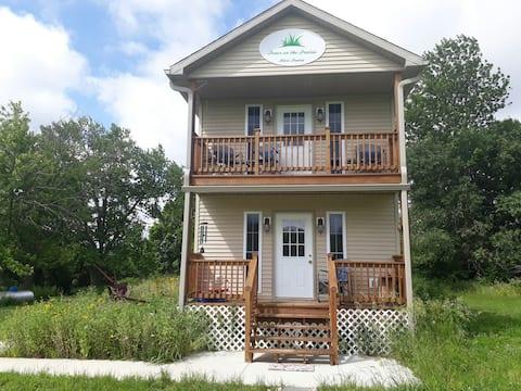 Paz na pradaria também - Tiny House