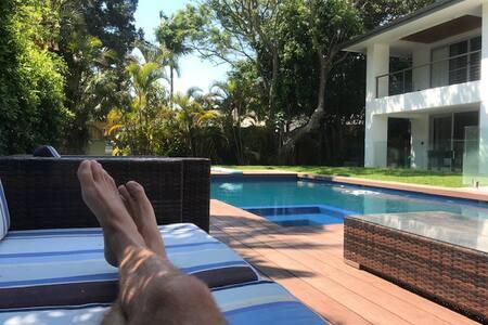 Enjoy staying in a Sydney beachside mansion!