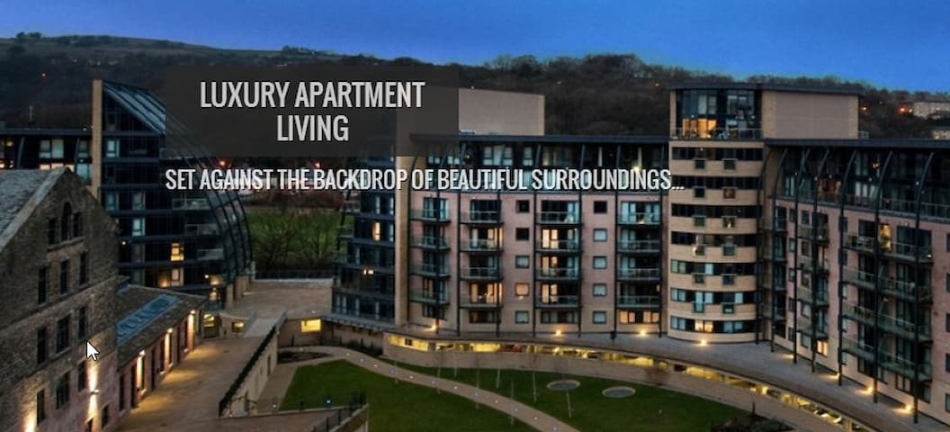 Saltaire Apartment By the River - West Yorkshire - Apartemen