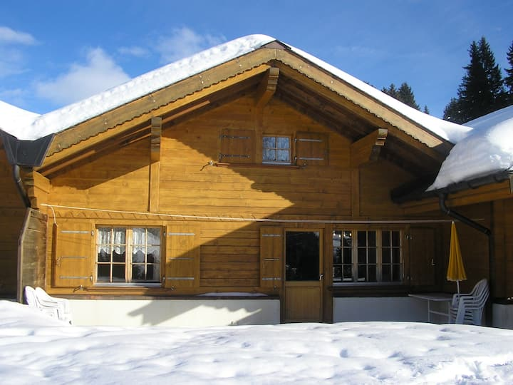 Swiss Mountain Chalet