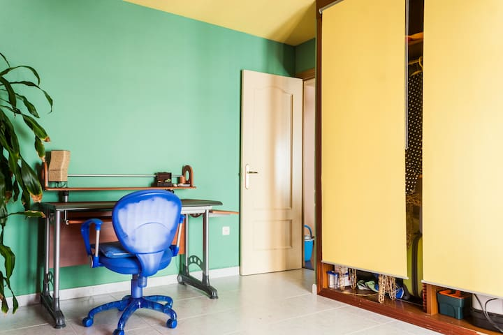 habitación grande con baño privado - San Lorenzo de El Escorial - Hus