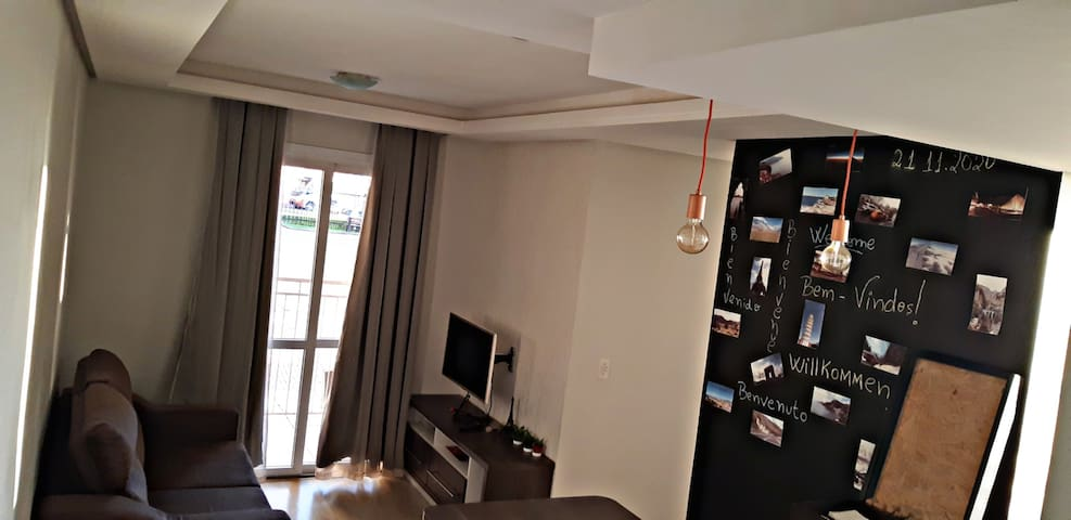 Comfortable and safe apartment in São Leopoldo