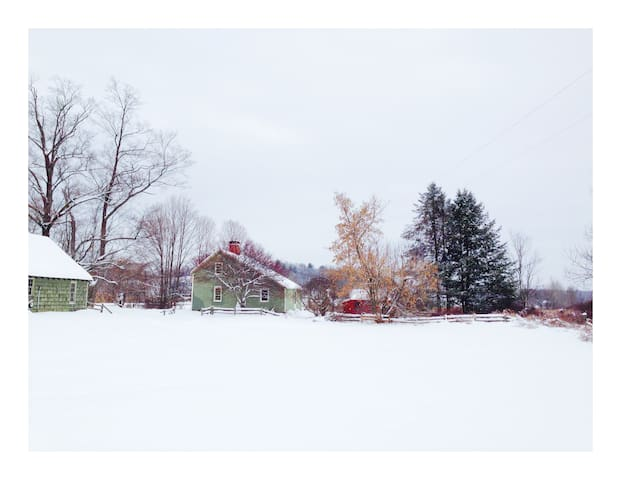 1762 Farmhouse near Saratoga, Adirondacks, Vermont - Cambridge - Casa