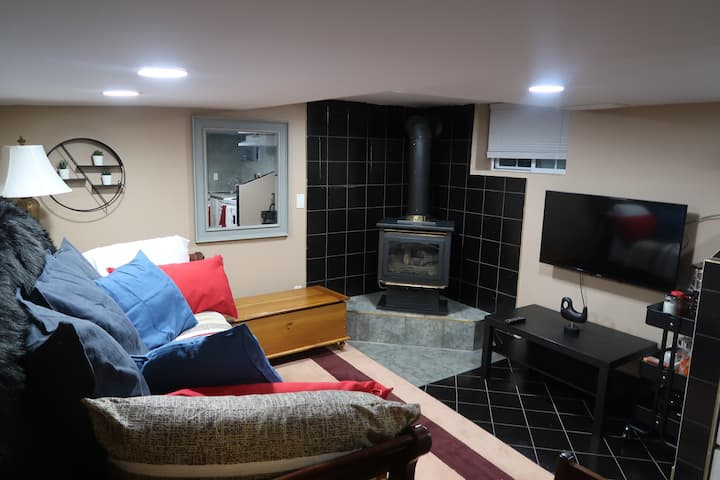 The Basement City  -Private Suite- Windsor Ontario