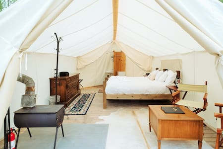 Glacier Under Canvas-Deluxe - Tent