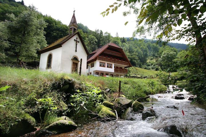 Ferienwohnung im Ettersbachhof - Simonswald - Apto. en complejo residencial
