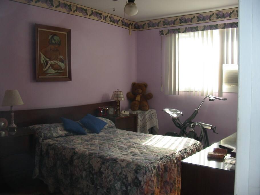 1e chambre lit double
