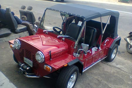 It is new but old type of Minimoke - Colombo