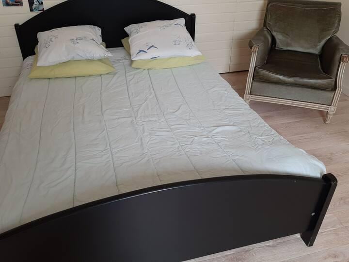 Luxemb, Chambre familiale 17m2 très confortable