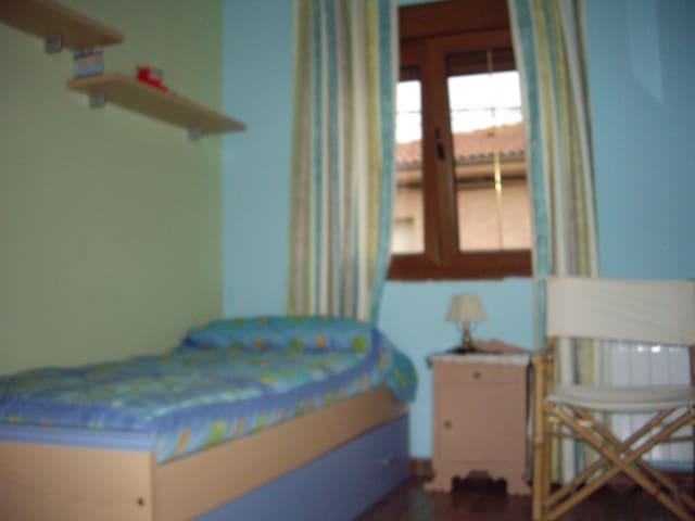 Habitacion secundaria con cama nido