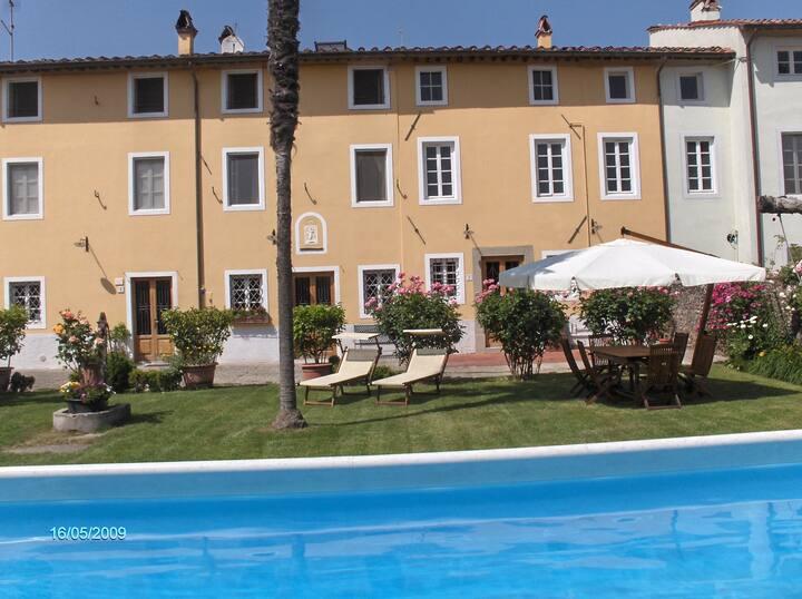 Original tuscany country home