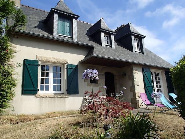 Maison avec grand jardin, vue mer proche Bréhat - Ploubazlanec - Rumah