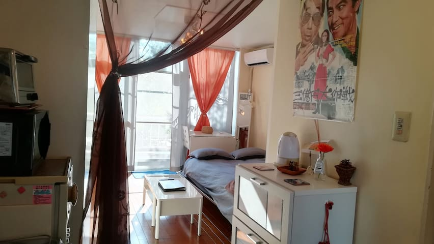 Cozy Flat #302, local area Yet 10 mins to shibuya!