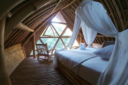 An Airbnb Bamboo Village And Farm Near River