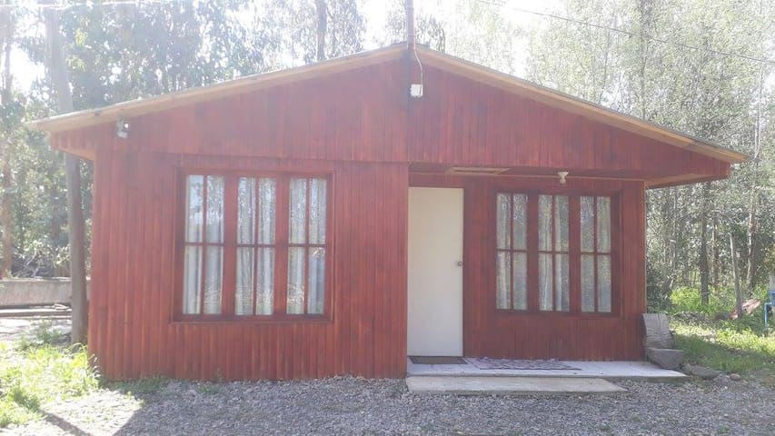 Cabaña 1 La Casa del Gallo (Maule, Yerbas Buenas)