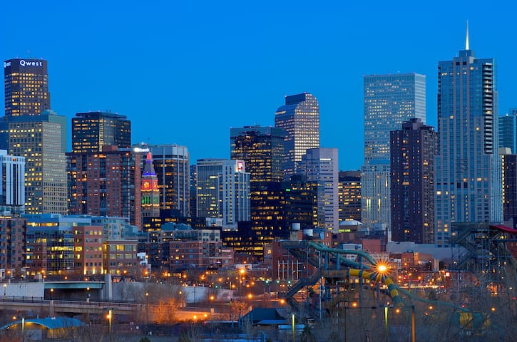 Denver is 45 minutes from the lodge!
