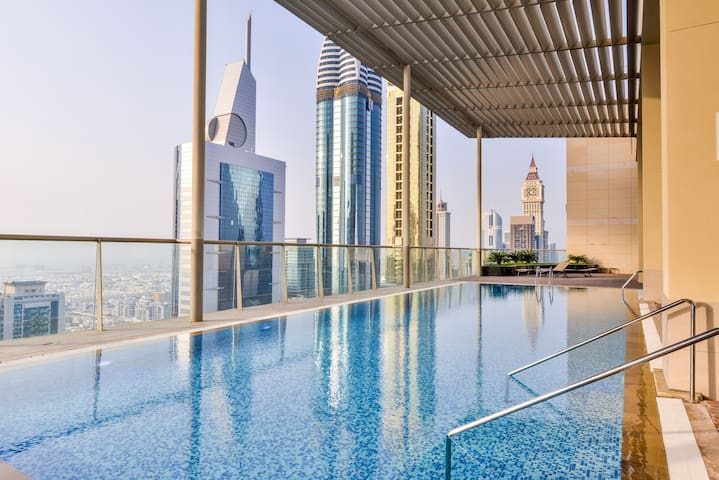 50m2 Studio, King Bed, central DIFC, VALUE & EASY