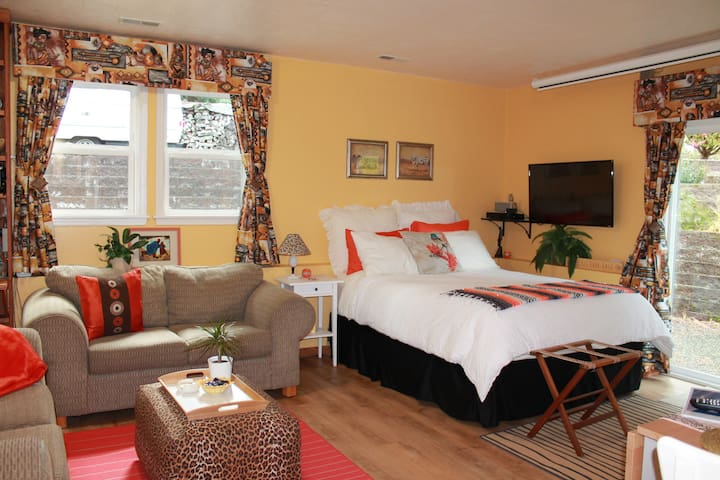 Sunrise Suite- Comfortable, cozy and private.