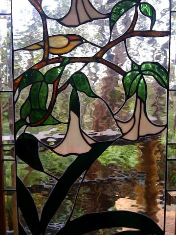 entry window at treehouse