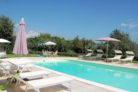 Apartment with terrace and pool - Acireale - Huoneisto