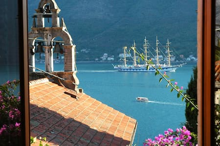 Lovely Perast apartment - bay view - Perast