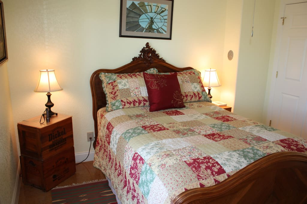Double Bed with Private Entrance
