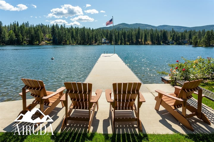 Stay Here! Waterfront Home | Coeur d`Alene, Idaho
