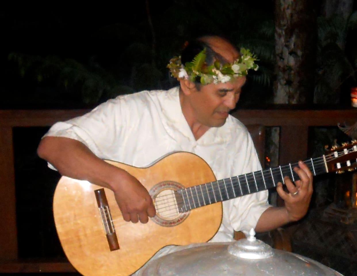 musician at pavilion celebration
