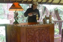 bartender at pavilion